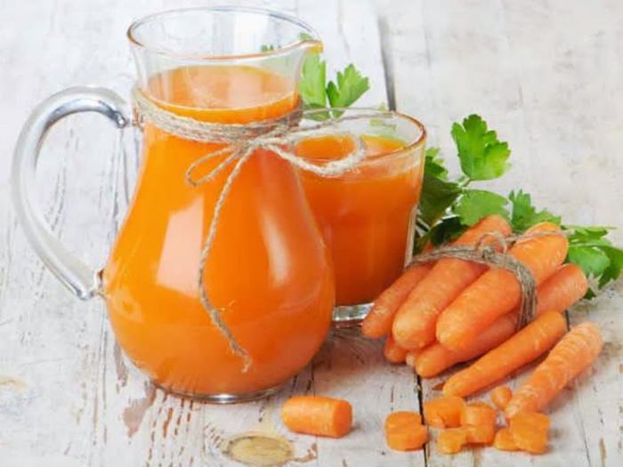I benefici delle carote fresche