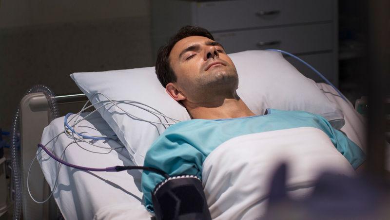 Uomo in coma