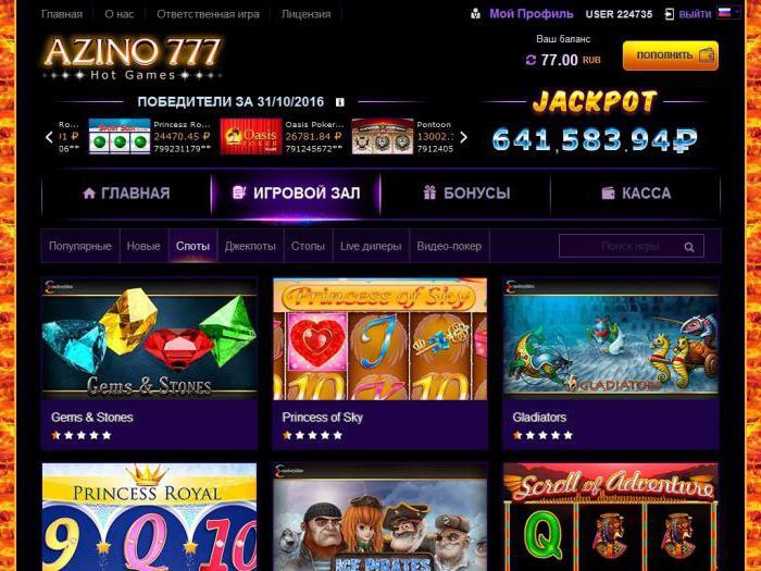 casino azino777