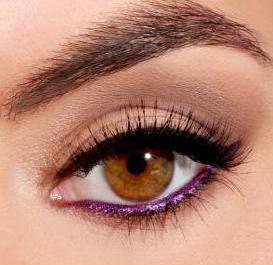 леки ежедневни грими за кафяви очи