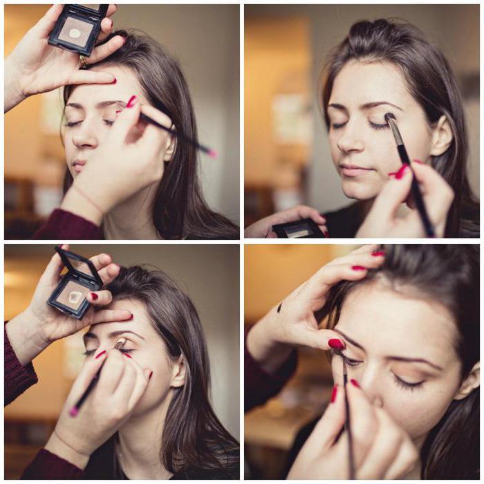casual makeup za smeđe oči korak po korak