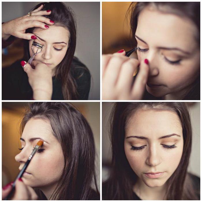 lijepa casual šminka za smeđe oči