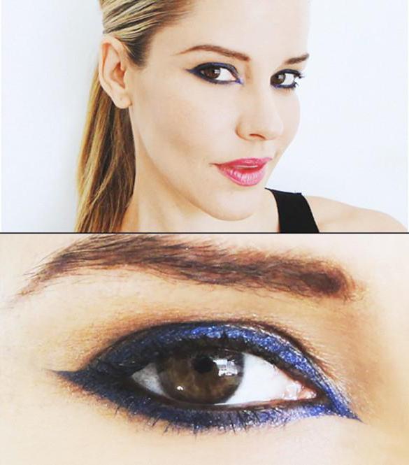 kako napraviti svakodnevnu šminku za smeđe oči