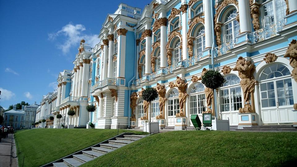 Дворецът на Екатерина в Царското село