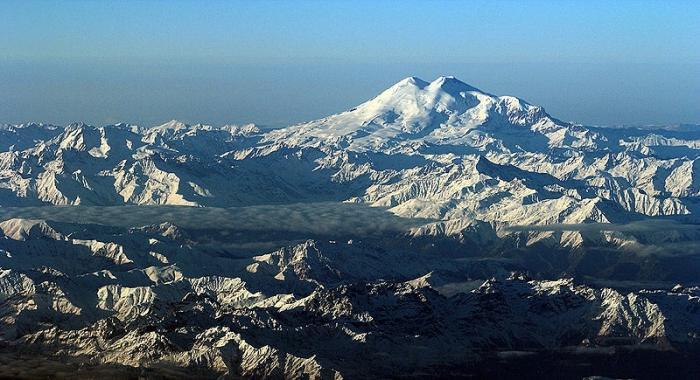 L'altezza delle montagne del Caucaso