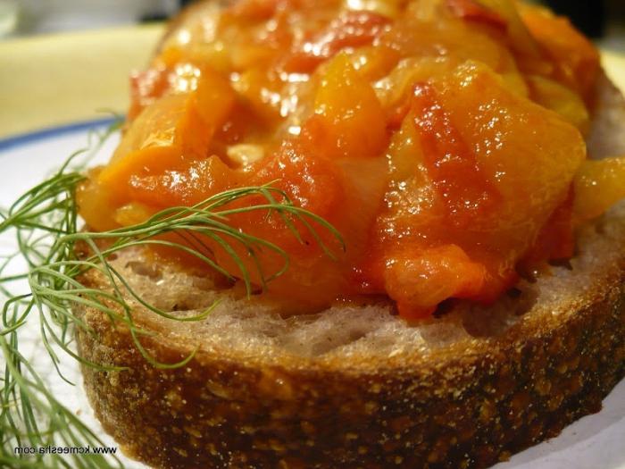 caviale di zucca con maionese per l'inverno