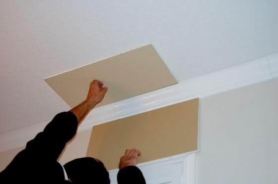 foto del soffitto di baguette