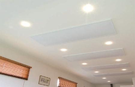 riscaldatori a soffitto a infrarossi