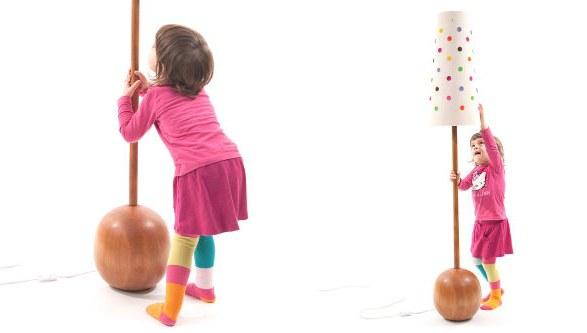 lampada per la camera dei bambini