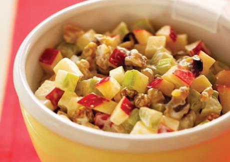 celer a jablečný salát