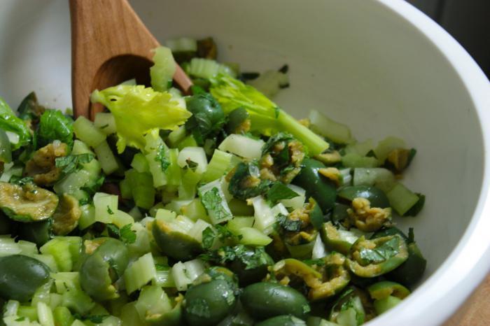 celerový kořenový salát