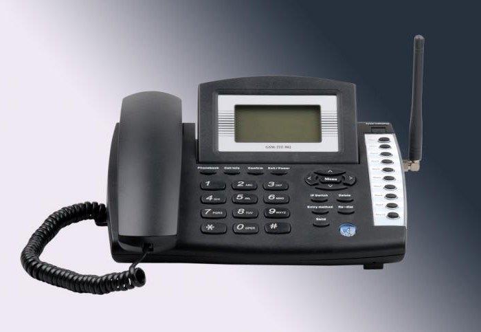 stacionární GSM telefon se SIM kartou