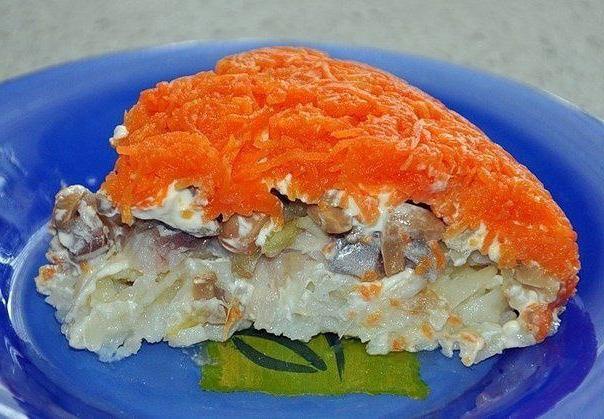 salata od lisičarke