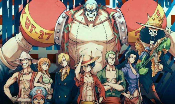 personaggi anime van pis
