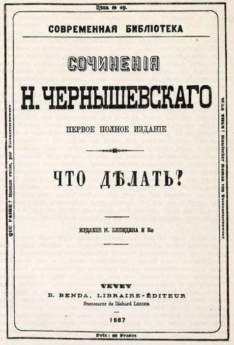 storia della creazione del romanzo che cosa fa Chernyshevsky
