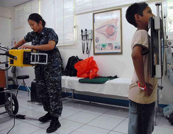rendgensko snimanje djeteta