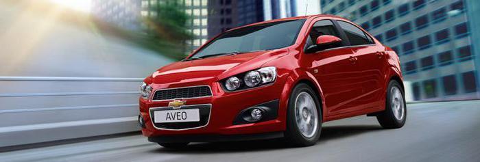 Спецификации на Chevrolet Aveo