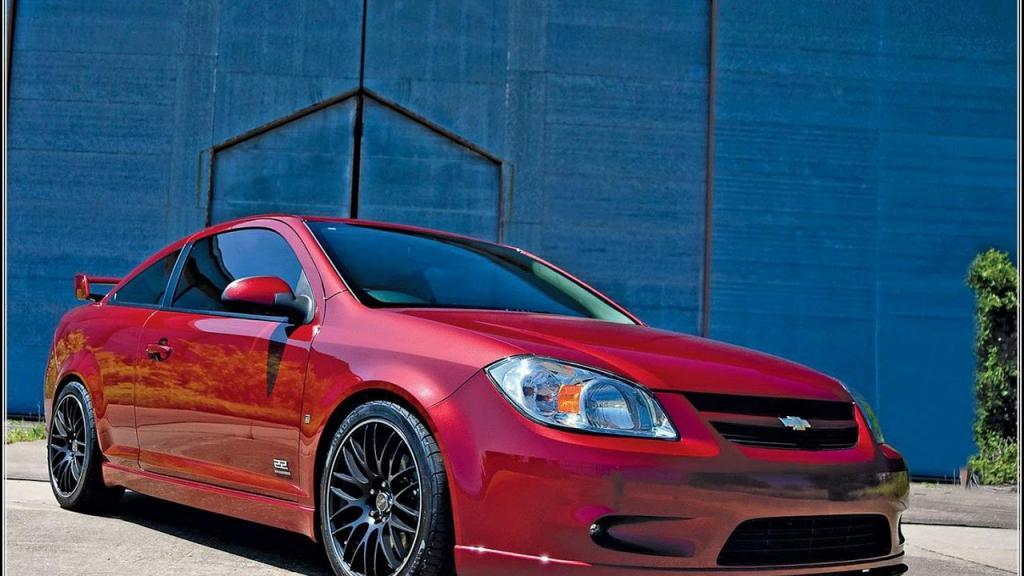 Chevrolet Cobalt SS rosso