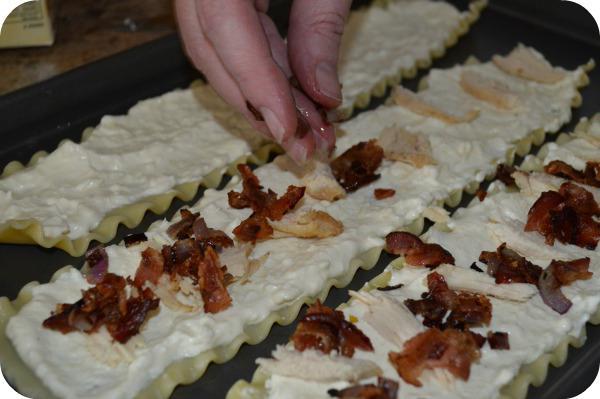 kuřecí filé zabalená ve slanině