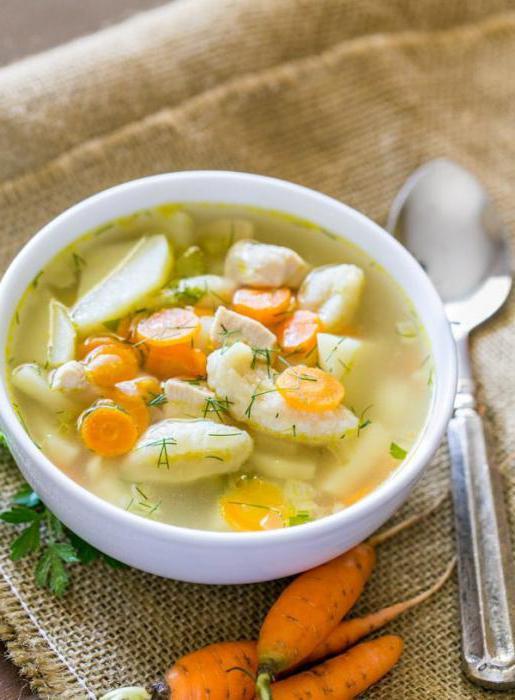 piletina juha s knedle korak po korak recept