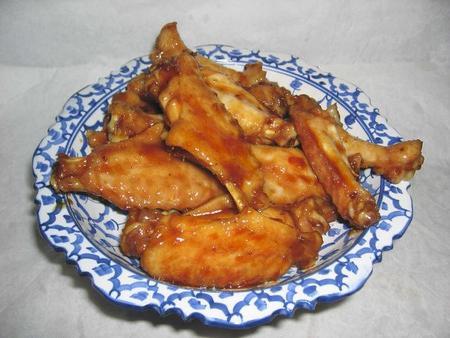 grilované křídlo recept