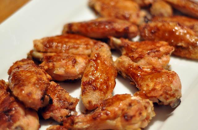 ali di pollo con patate al forno