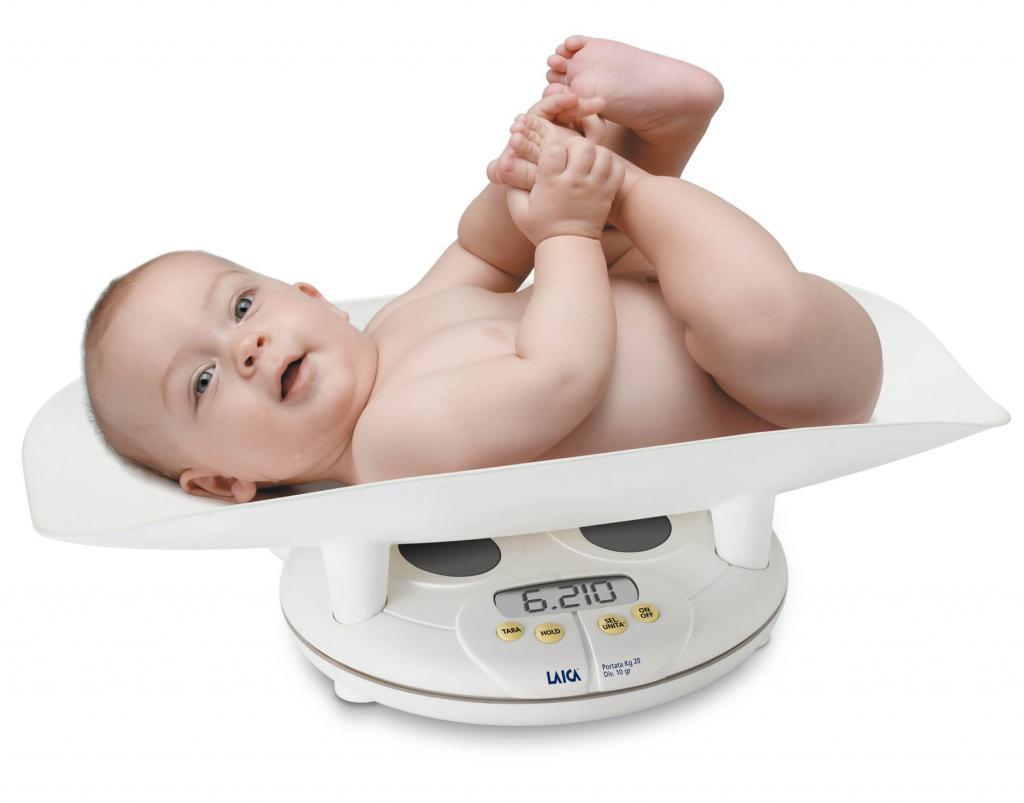 тегло на детето на 1 година 1 месец