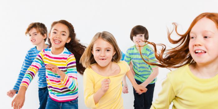 otroška gimnastika
