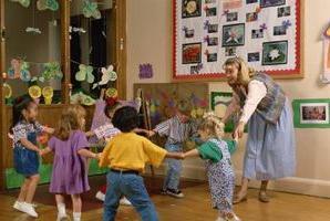 otroška jutranja gimnastika