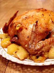 Foto di pollo in aerogrill