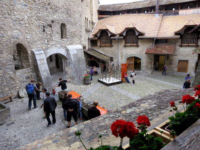 povijest dvorca chillon