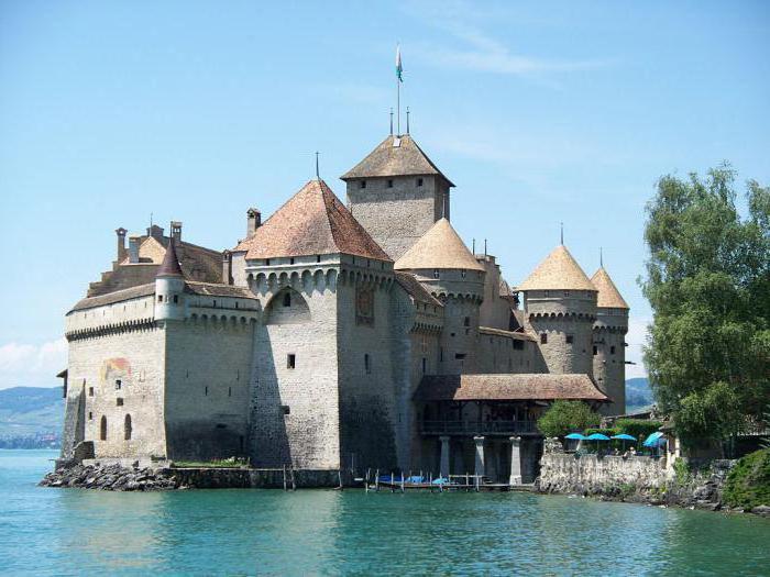 Chillon Castle Švicarska