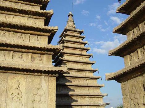 архитектура средњовековне Кине