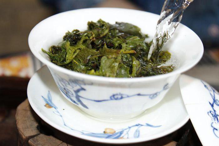 come preparare il tè Tie Guan Yin