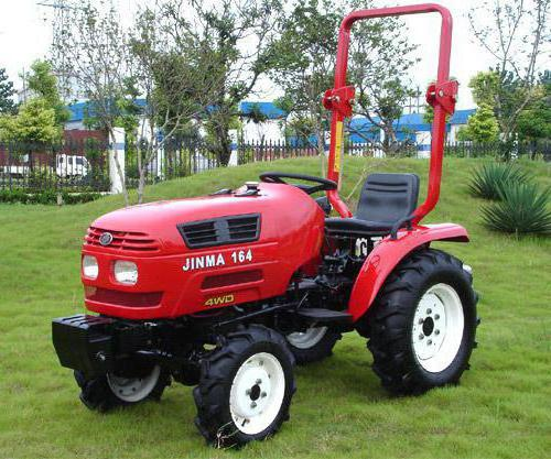 mini kineski traktor