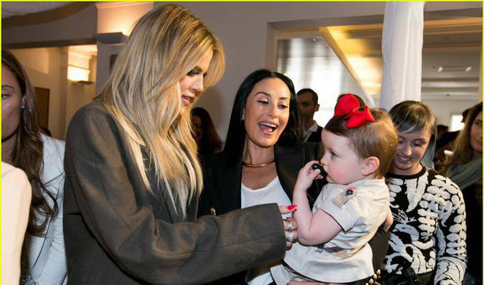 Chloe Kardashian bambini