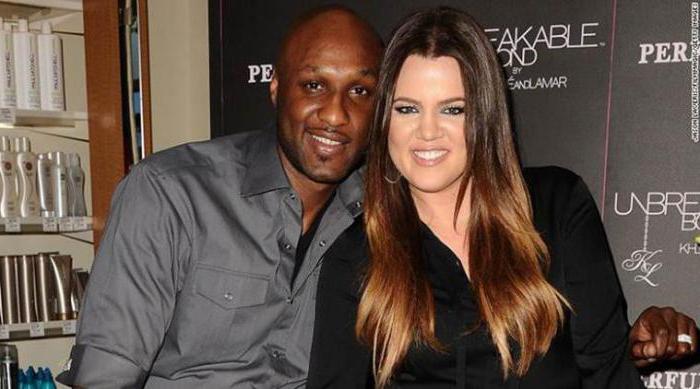 Chloe Kardashian e suo marito