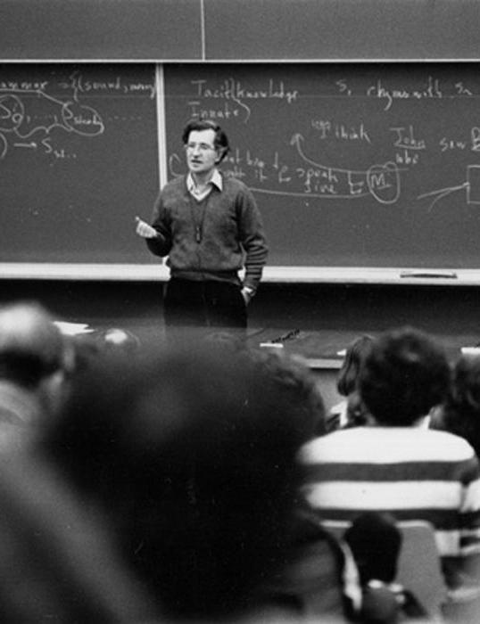Come funziona il mondo Noam Chomsky