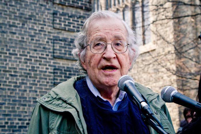 Sistema di alimentazione Noam Chomsky