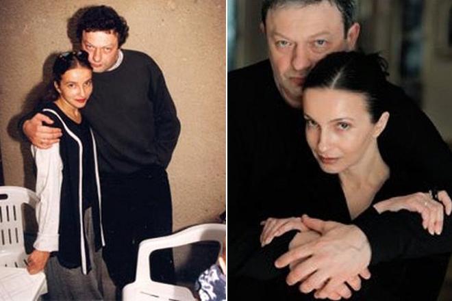 Alla Sigalova sa suprugom