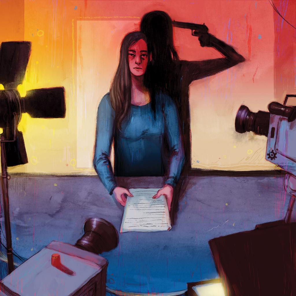 Ritratto di Christine Chubback.