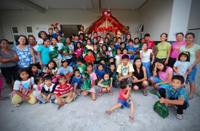 Scenario natalizio per bambini
