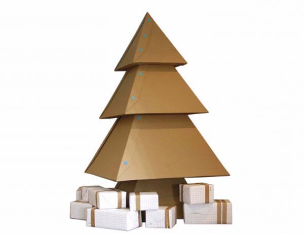 Коледно дърво за хартия