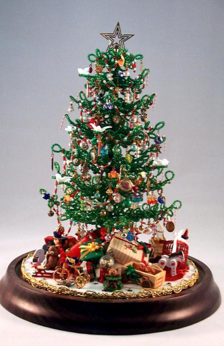 Albero di Natale di perline con le tue mani