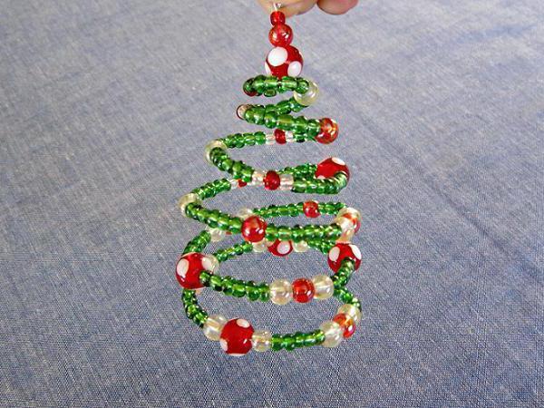 albero di Natale perline