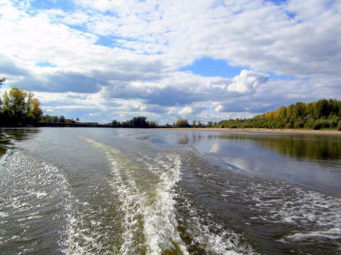 Chulym River
