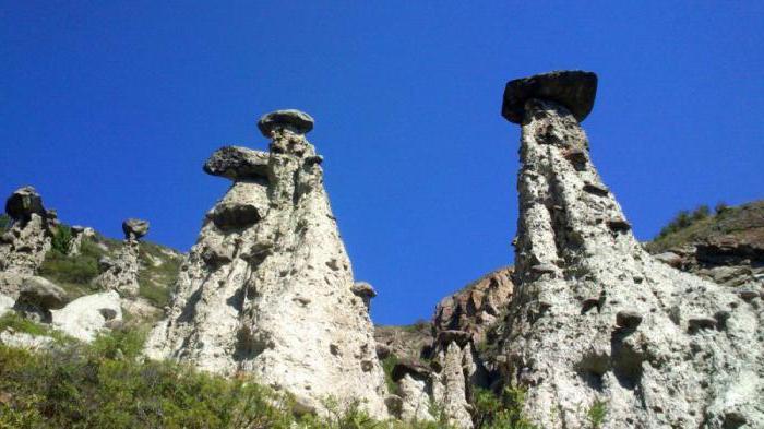 камене печурке долине Цхулисхман