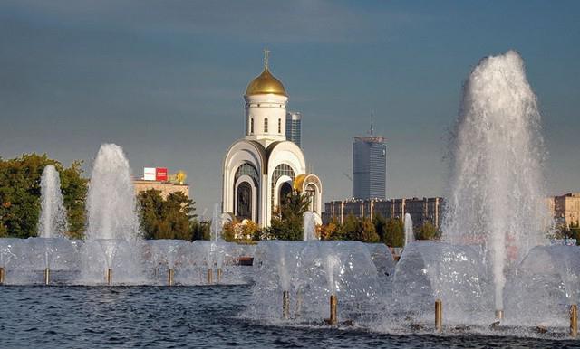 Fotografija hrama Svetog Jurja na zemlji čudesa