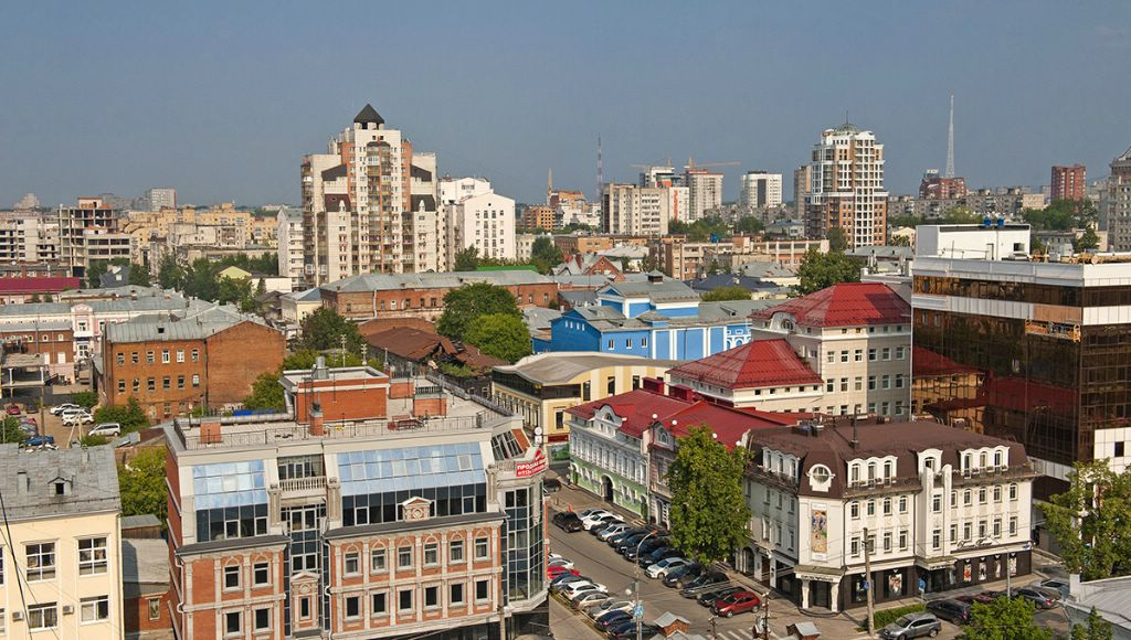Città di Perm Regione: elenco