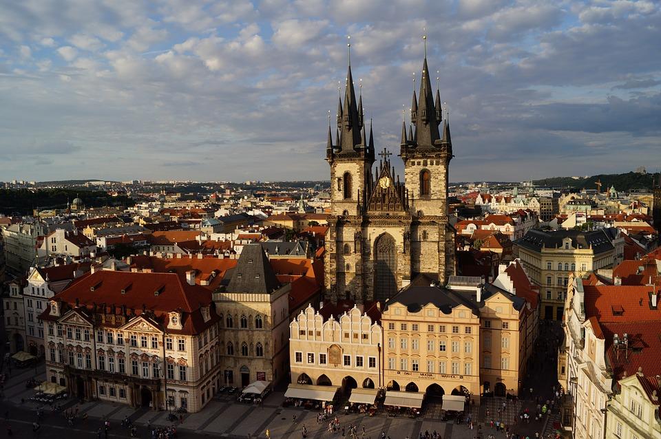 Piazza della Città Vecchia di Praga